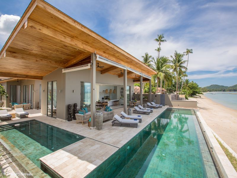 View all Koh Samui Beachfront villas